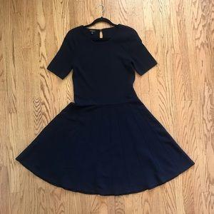 Navy Talbots Dress L